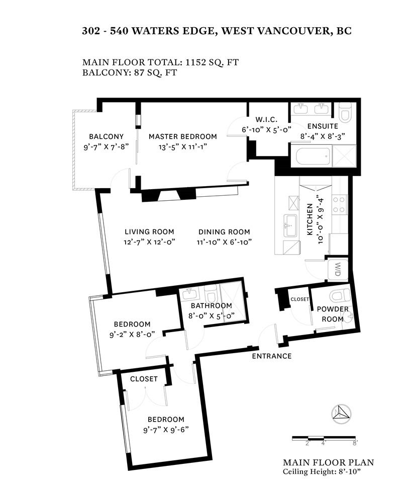 The Edge Apartments Vancouver: 540 Waters Edge Cres 302